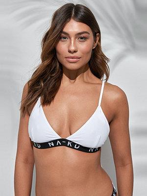 NA-KD Swimwear Sporty Logo Triangle Bikini - Bikini