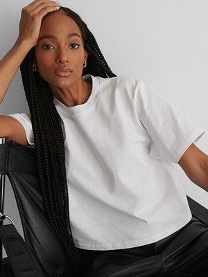 T-shirts - NA-KD Basic Oversize T-Shirt vit