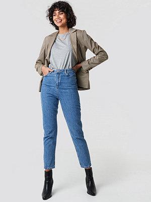 Trendyol High Mom Jeans blå