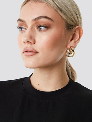 NA-KD Accessories Connected Ring Earrings - Smycken