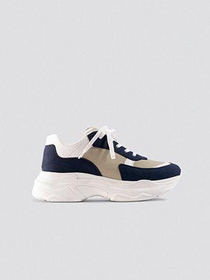 Milena Karl x NA-KD Chunky Sneaker multicolor