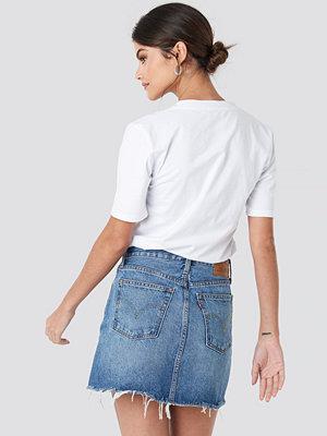 Levi's Deconstructed Skirt blå