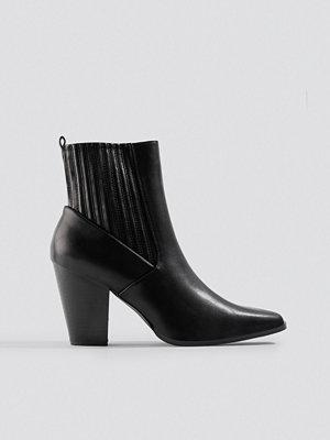 NA-KD Shoes Cowboy Boots svart