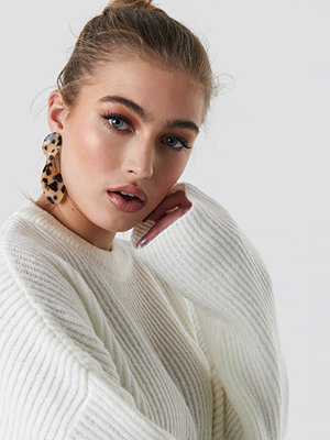 NA-KD Accessories Twisted Drop Tortoise Earrings - Smycken