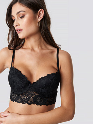 NA-KD Lingerie Padded Cup Lace Bralette - BH:ar