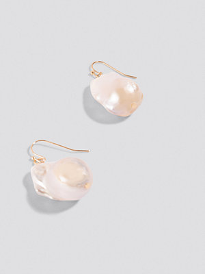NA-KD Boho Oversized Fresh Water Pearls Earrings - Smycken