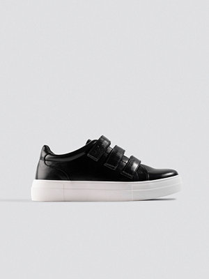 NA-KD Shoes Velcro Sneakers svart