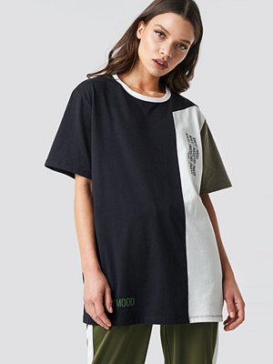 T-shirts - Astrid Olsen x NA-KD Block-printed Tee multicolor