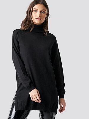 NA-KD Turtle Neck Long Sweater svart