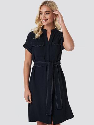 Mango Moss Dress svart