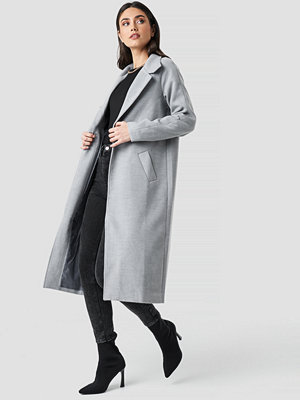 Rut & Circle Gella long coat grå