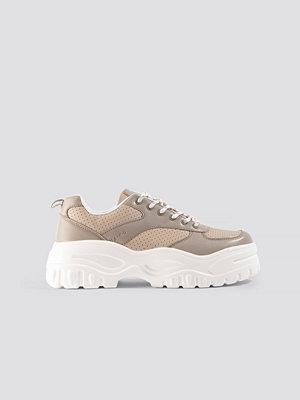 Sneakers & streetskor - NA-KD Shoes Profile Sole Sneakers beige