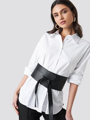 Bälten & skärp - NA-KD Accessories Front Knot Waist Belt svart