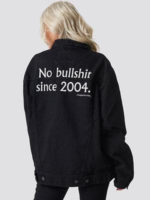 Cheap Monday Upsize Jacket No Bullshit svart
