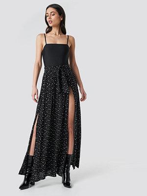 Trendyol Guipure Viscose Skirt svart