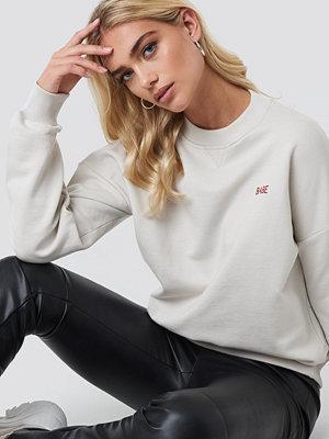 NA-KD Babe Sweatshirt beige