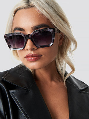NA-KD Accessories Square Frame Sunglasses grå