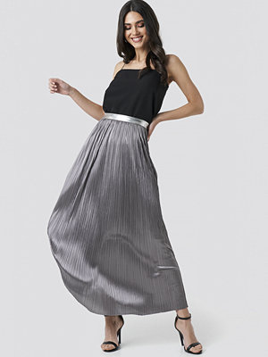 Rut & Circle Nina Long Skirt silver
