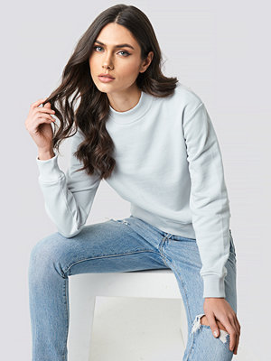 NA-KD Basic Basic Sweater grå