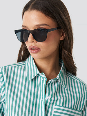 NA-KD Accessories Square Monolens Sunglasses svart