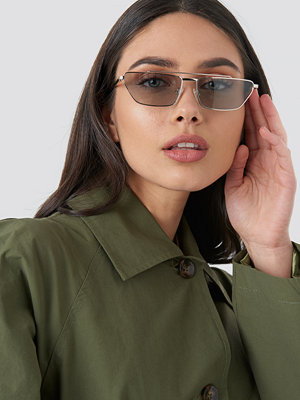 Solglasögon - Le Specs Electricool grå silver
