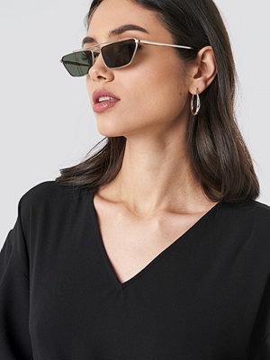 Solglasögon - Le Specs Electricool grön silver guld