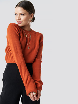 Trendyol Tile Vertical Collar Pullover orange