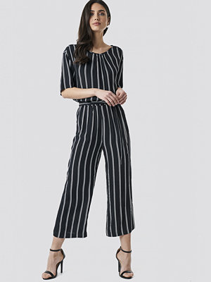 Jumpsuits & playsuits - Sparkz Tula Stripe Jumpsuit svart