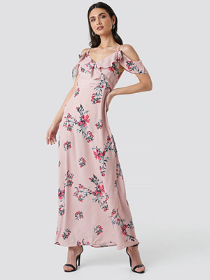 Rut & Circle Mika Long Dress rosa