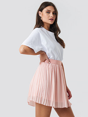 NA-KD Mini Pleated Skirt rosa