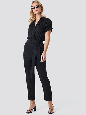 Jumpsuits & playsuits - Trendyol Binding Detailed Jumpsuit svart