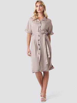 Trendyol Tulum Binding Detail Dress beige