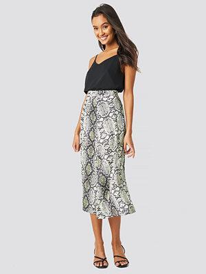 Trendyol Snake Patterned Skirt multicolor