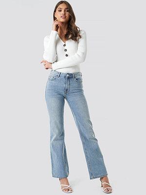 Mango Choco Jeans blå