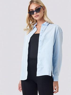 Trendyol Loose Fit Shirt blå