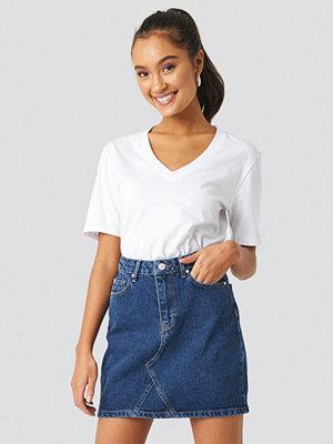Trendyol Milla Basic Denim Skirt blå