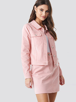 NA-KD Co-ord Corduroy Jacket rosa