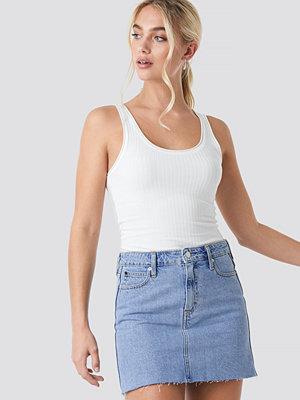 Calvin Klein Mid Rise Skirt blå