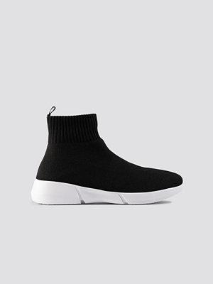 Sneakers & streetskor - Bianco Footwear Biacasey Knit Hightop svart