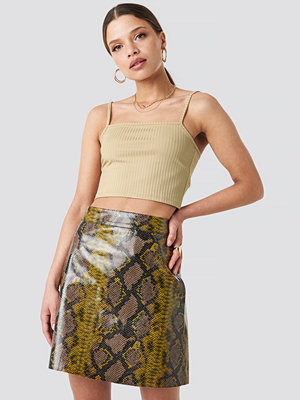 NA-KD Trend Snake Printed A Line Mini Skirt multicolor