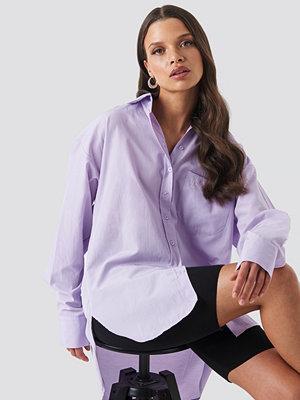 Skjortor - Trendyol Yol Boyfriend Shirt lila
