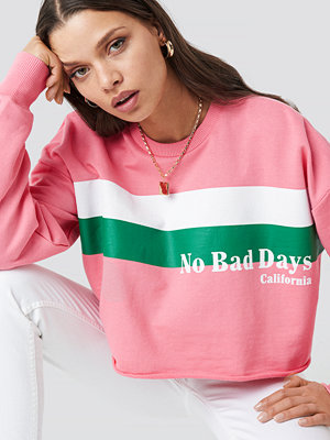 NA-KD Retro Sweat rosa