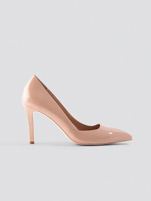 Pumps & klackskor - NA-KD Shoes Classy Pointy Pumps beige
