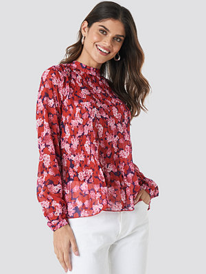 NA-KD Trend Pleated Top multicolor