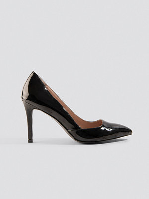 Pumps & klackskor - NA-KD Shoes Classy Pointy Pumps svart