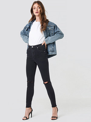 Abrand A High Skinny Ankle Basher Jeans svart