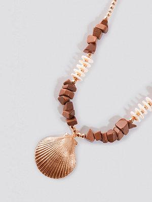 Trendyol smycke Tulum Necklace brun