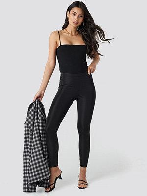 Leggings & tights - Trendyol Yol Shiny Tights svart