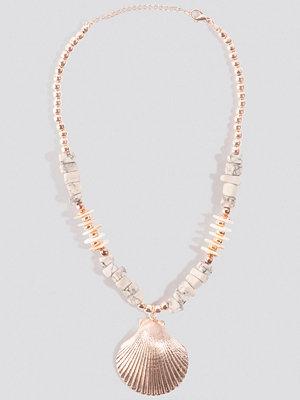 Trendyol smycke Tulum Necklace grå