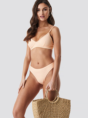 NA-KD Swimwear High Cut Bikini Panty orange